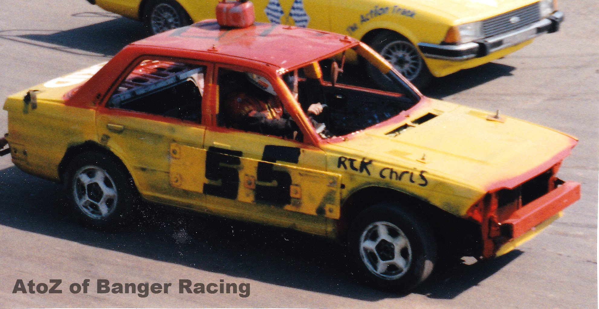 suicide squad     banger racing