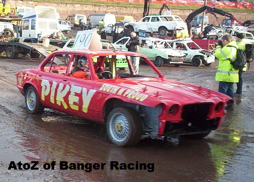 Braintree Toyota Pikey – 190 Steve Bailey | A to Z of Banger Racing