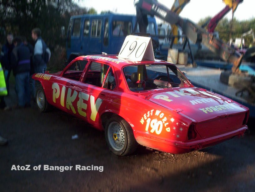 Pikey 190 Steve Bailey A To Z Of Banger Racing