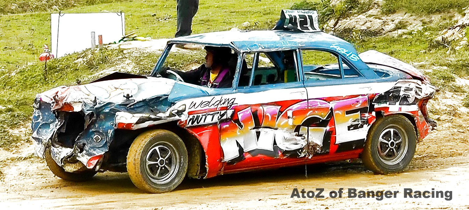 421 – Nutty Nige | A to Z of Banger Racing