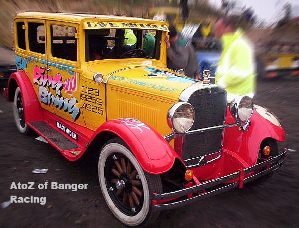 dodge     banger racing